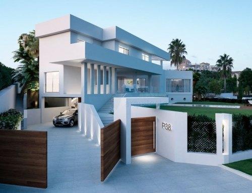 Nueva villa en Los Flamigos (Benahavís), diseño del estudio Oria Arquitectos