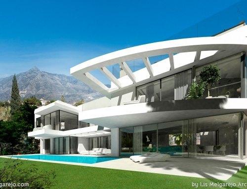 Tres impresionantes villas en Banús Hill diseño de Lis Megarejo Arquitectura